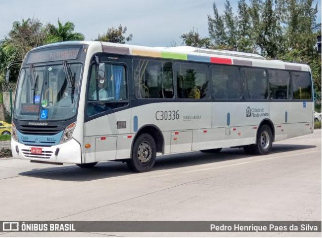 Rio: Bandido é preso ao assaltar ônibus do Consórcio Transcarioca na zona oeste