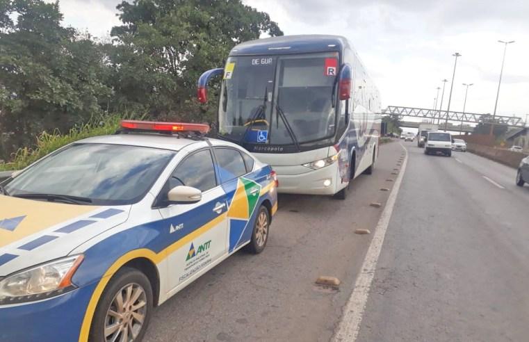 ANTT apreende nove veículos em operação de fiscalização na região de Belo Horizonte