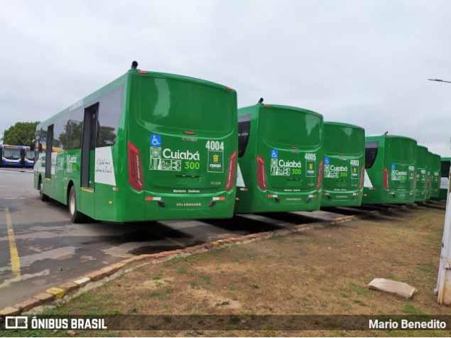 Cuiabá anuncia a entrega 140 ônibus para a primeira quinzena de julho