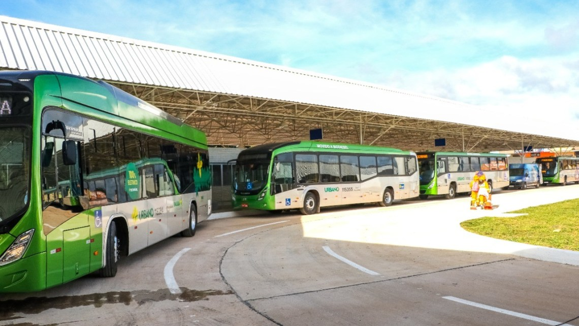 DF: Transporte público recebe 30 ônibus novos