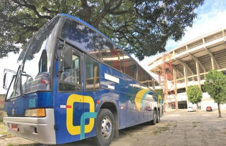 Recife: Santa Cruz batiza novo ônibus da base de Expresso Coral Renato Luna