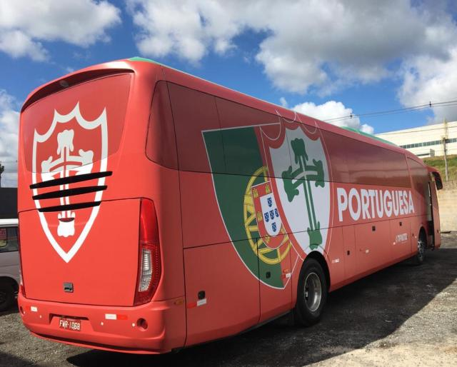 São Paulo: Portuguesa apresenta novo ônibus - revistadoonibus