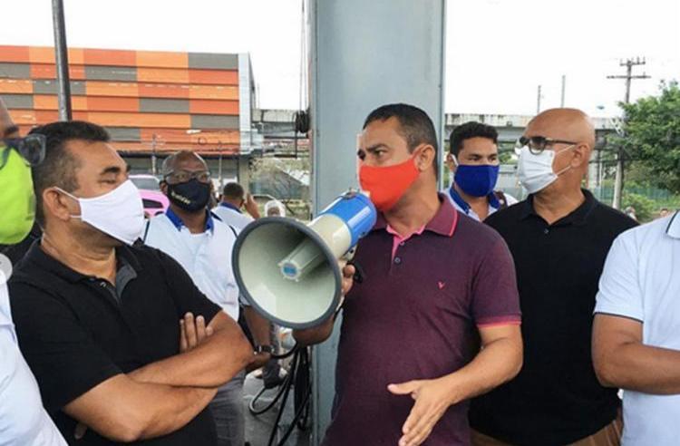 Salvador: Rodoviários da CSN realizam protesto nesta manhã