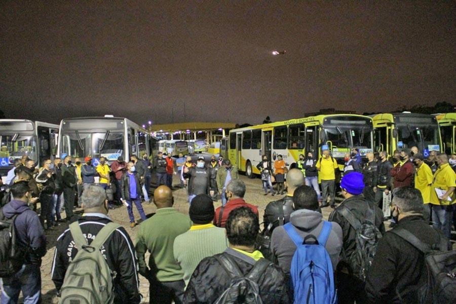 SP: Rodoviários de Guarulhos entram em estado de greve por reajuste