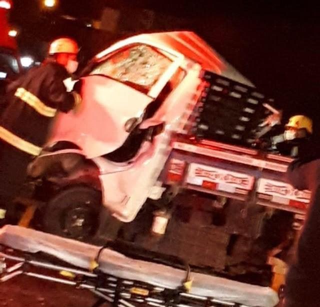 SC: Acidente entre caminhão e ônibus deixa dois mortos na BR-282 em Campos Novos - revistadoonibus