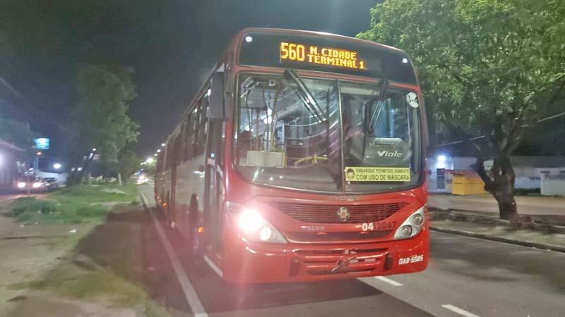 Assalto a ônibus na zona norte de Manaus gera medo e pânico nos passageiros