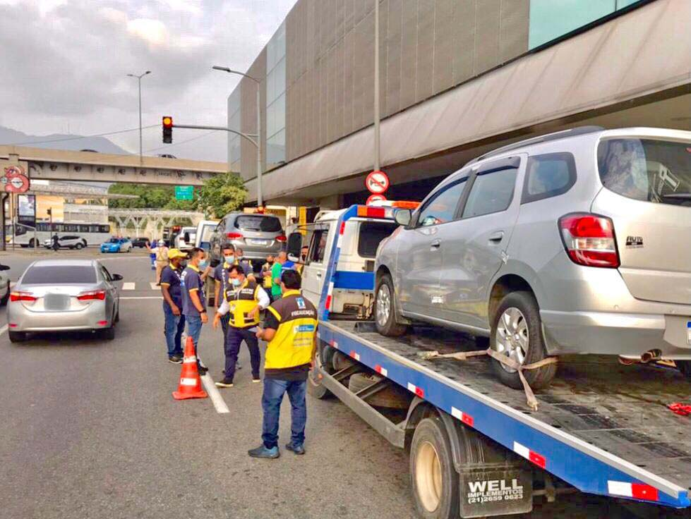Rio: DETRO realiza operação no entorno da Rodoviária do Rio nesta quarta-feira