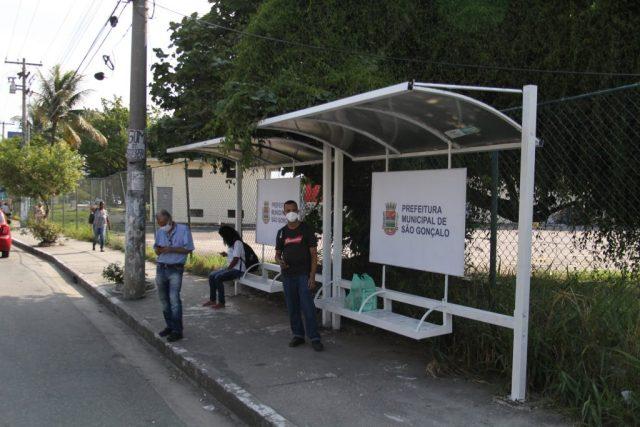 RJ: São Gonçalo reforma abrigos em pontos de ônibus - revistadoonibus