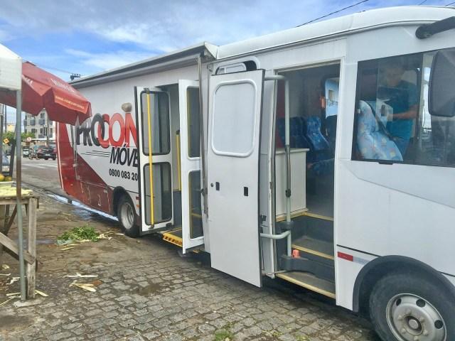 João Pessoa: Procon levam serviço itinerante para consumidores do bairro da Penha - revistadoonibus