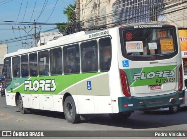 Vídeo: Assalto em ônibus da Transportes Flores deixa um morto na zona norte do Rio - revistadoonibus