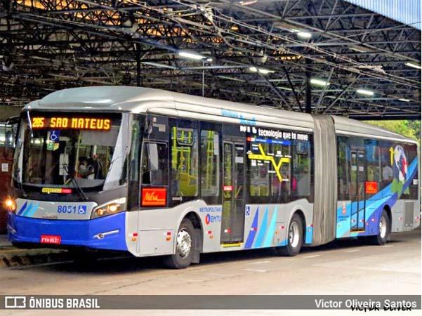 SP: Justiça determina a suspensão do contrato do BRT da Metra feito sem licitação