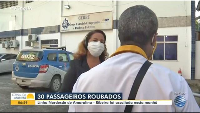 Salvador: Bandido assalta ônibus da Plataforma Transportes na Avenida Vasco da Gama - revistadoonibus