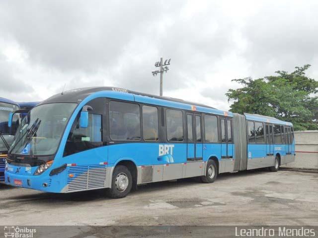 Prefeitura do Rio deve renovar frota do BRT com 500 novos ônibus até 2022 - revistadoonibus
