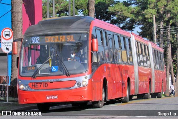 Curitiba anuncia vacinação contra a Covid-19 aos motoristas e cobradores de ônibus na segunda-feira