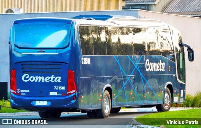 Vídeo: Busscar inicia a entrega de novos ônibus Vissta Buss 360 Scania da Viação Cometa