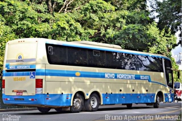 BA: Ônibus da Novo Horizonte deixa bagagens de passageiros caírem na BA-650 - revistadoonibus