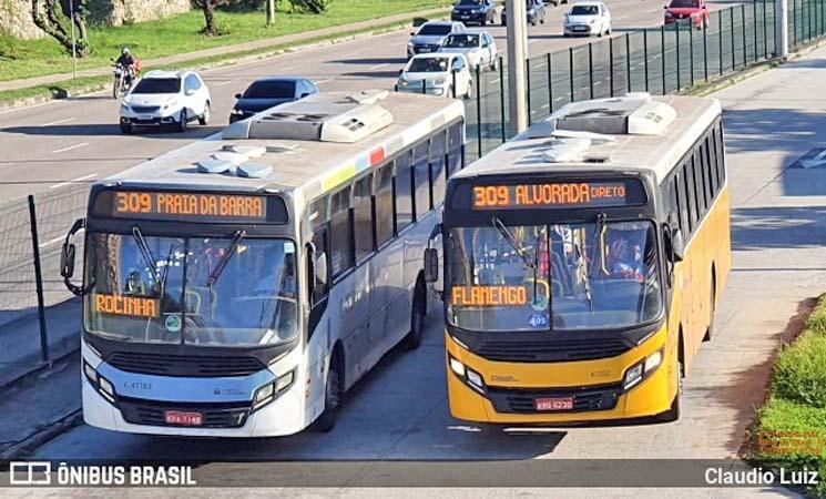Rio: Tarifa de integração metro x ônibus aumenta para 6,90