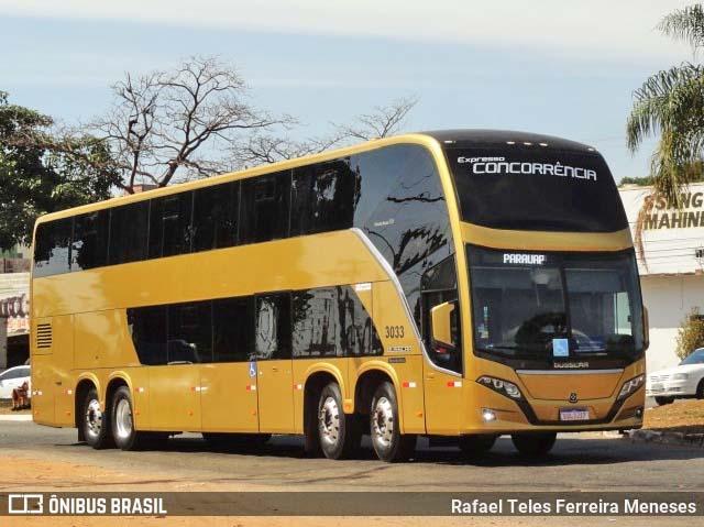 Expresso Concorrência incorpora Busscar Vissta Buss DD 8×2 ex-Kaissara
