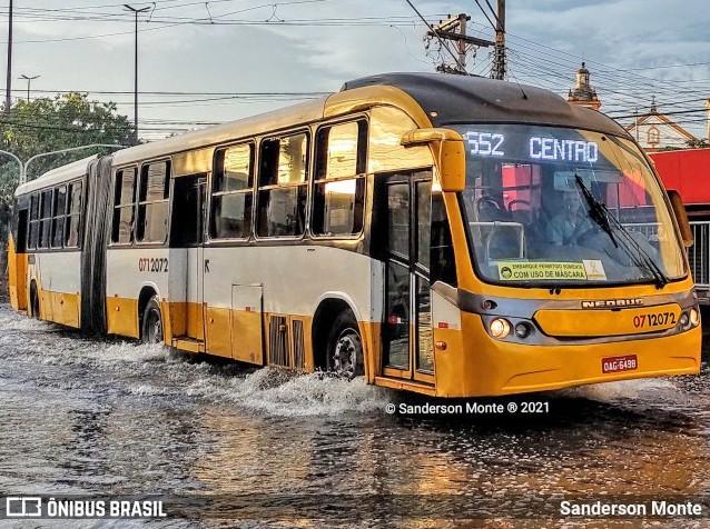 Manaus: Ônibus retoma operação municipal nesta manhã