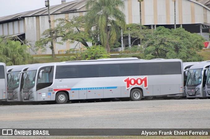 SC: Novos ônibus da Auto Viação 1001 modelo Busscar El Buss 320 devem deixar Joinville nos próximos dias