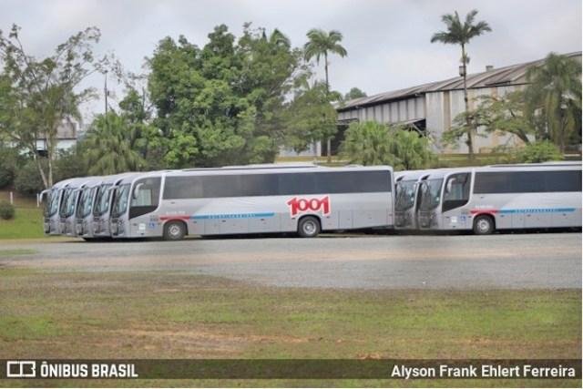 SC: Novos ônibus da Auto Viação 1001 modelo Busscar El Buss 320 devem deixar Joinville nos próximos dias - revistadoonibus