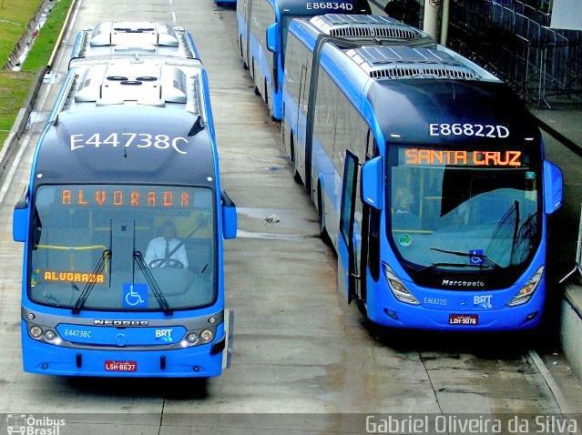 BRT Rio anuncia mudanças operacionais no corredor Transoeste a partir de segunda-feira