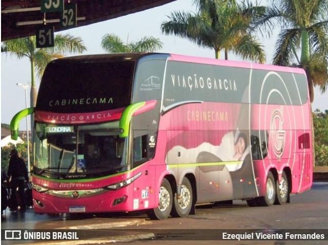Adamantina possuem a tarifa do serviço Leito mais barata da Londrina x São Paulo Viação Garcia - revistadoonibus