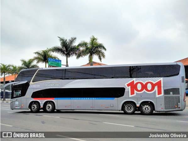 Auto Viação 1001 anuncia que em julho inicia operação na linha Itaboraí x São Paulo x Itaboraí