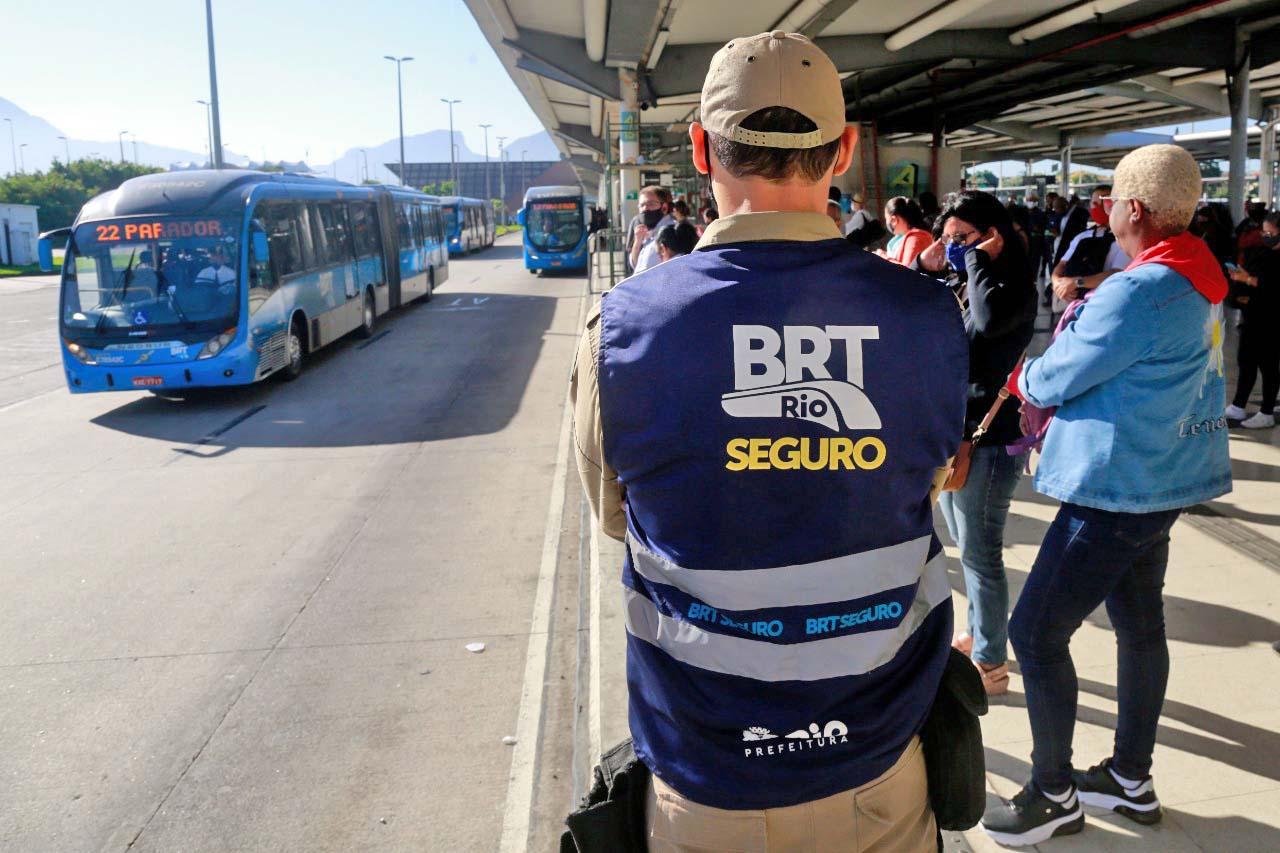 Rio: Programa BRT Seguro registra 12 prisões nas primeiras duas semanas de operação