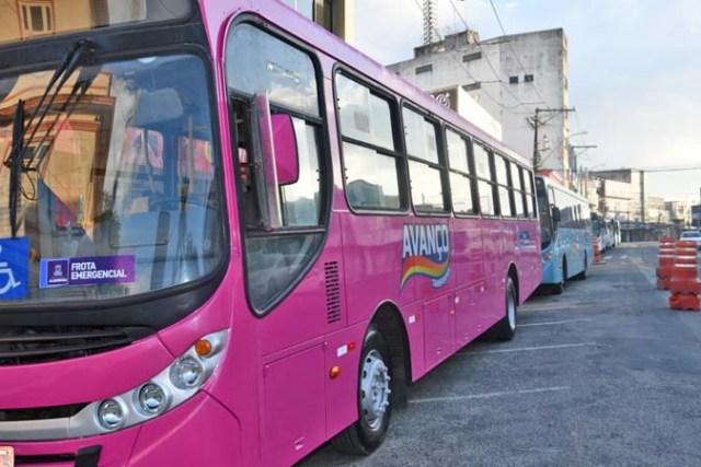 BA: Prefeitura de Alagoinhas apresenta ônibus da frota emergencial - revistadoonibus