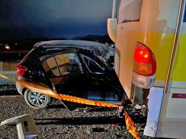 SC: Motorista de micro-ônibus morre em acidente na cidade de Itajaí - revistadoonibus