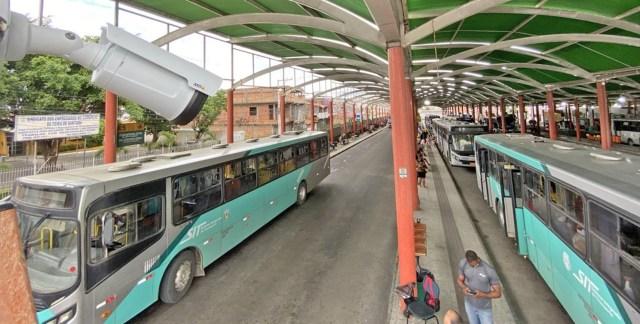 BA: Feira de Santana passa usar câmeras para monitorar o transporte urbano - revistadoonibus