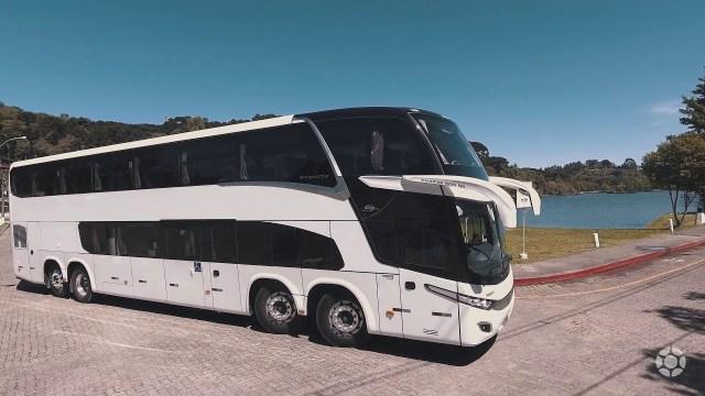 Atlético Goianiense adquire novo ônibus Marcopolo DD - revistadoonibus