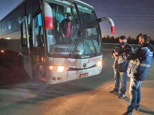 SC: Aresc intensifica fiscalizações preventivas contra a Covid-19 nos ônibus intermunicipais