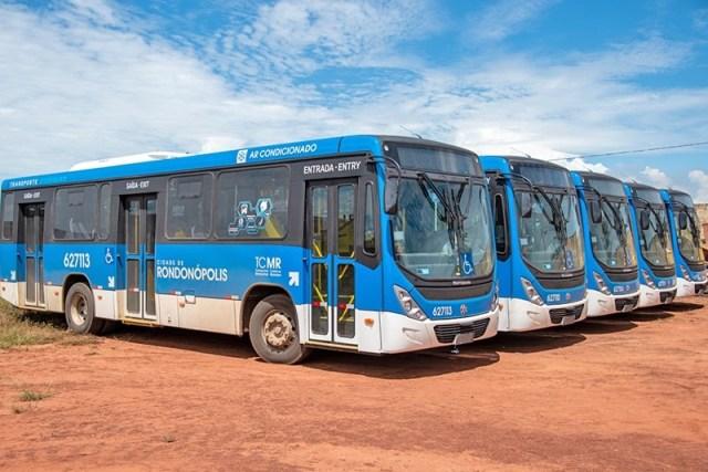 MT: Rondonópolis segue com ônibus novos parados e prefeitura sinaliza a compra de mais coletivos - revistadoonibus