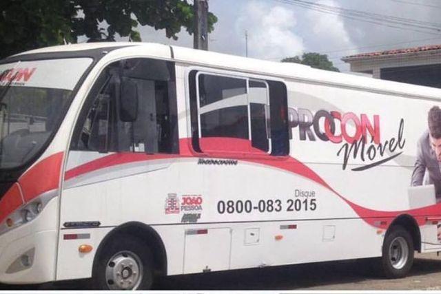 João Pessoa: Micro-ônibus do Procon atende nesta terça e quinta-feira no Alto do Mateus - revistadoonibus