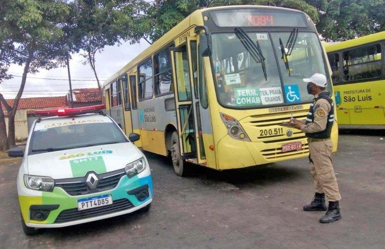 São Luís intensifica fiscalização de equipamentos de acessibilidade dos ônibus