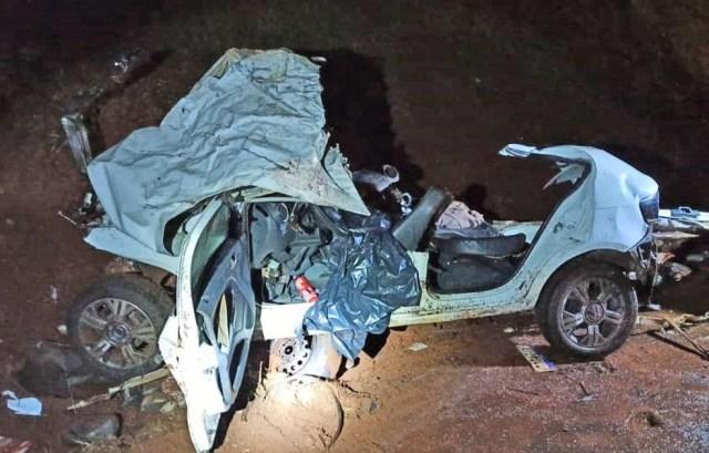 PR: Acidente entre carro e ônibus deixa duas pessoas mortas na BR-369 em Corbélia - revistadoonibus