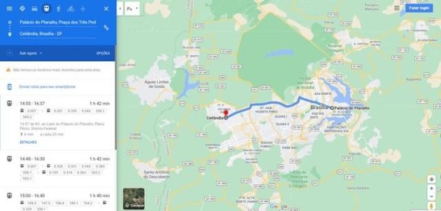 Google Maps amplia informações do transporte público em mais 40 cidades - revistadoonibus