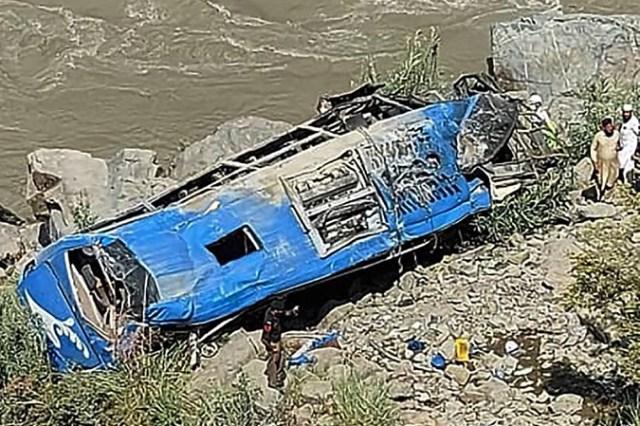 Paquistão afirma que explosão em ônibus que deixou 12 mortos foi acidente - revistadoonibus