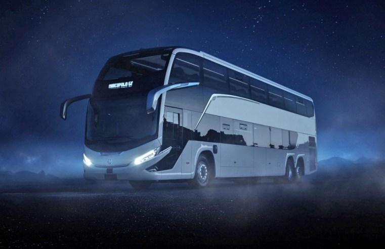 Conheça em fotos o novo ônibus Marcopolo G8