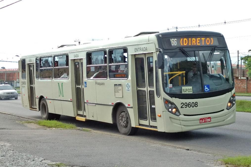 Curitiba: Linha D66-CTBA/PIRAQUARA (Direto) volta a operar