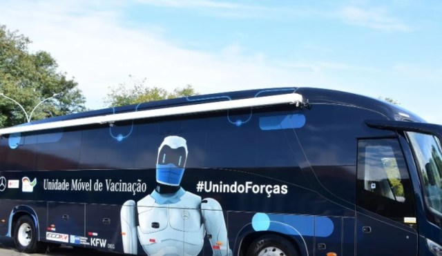 Maceió: Ônibus da Vacina chega ao litoral norte na segunda-feira - revistadoonibus