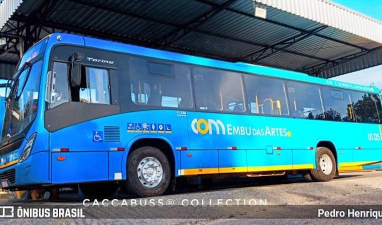 SP: JTP Transportes incorpora 10 ônibus para atender a cidade de Embu das Artes