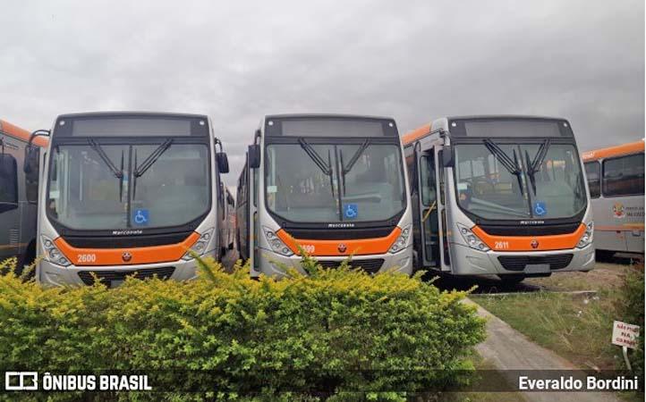 São José dos Campos: Joseense renova frota com 20 ônibus Torino Mercedes-Benz OF-1721
