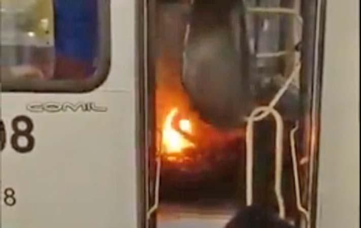 PA: Ônibus tem incêndio em motor e assusta passageiros em Marituba na Grande Belém – Vídeo