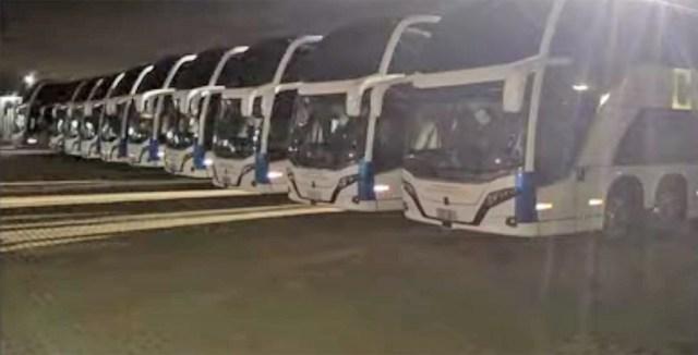 Catarinense deve disponibilizar novos ônibus Busscar DD 8x2 Scania nas próximas semanas - revistadoonibus