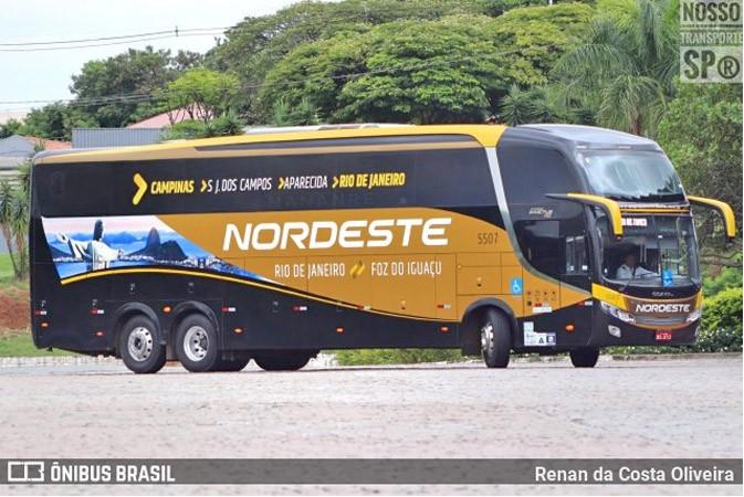 Expresso Nordeste retoma viagem na linha Foz do Iguaçu x Rio x Foz do Iguaçu