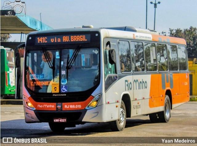 Rio: Acidente com ônibus da Rio Minho deixou duas mulheres feridas na Avenida Brasil - revistadoonibus