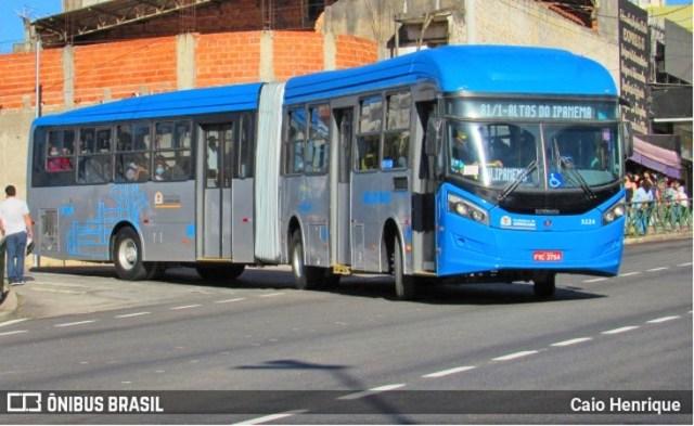 SP: Mulher acaba atropelada por ônibus do BRT Sorocaba na Avenida Itavuvu - revistadoonibus